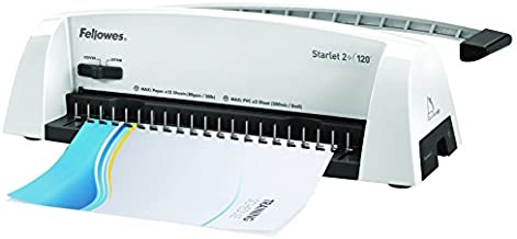 Fellowes Binding Machine Starlet2+ Comb Binding (5227701),White