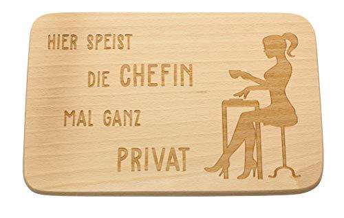 Spruchreif PREMIUM QUALITÄT 100% EMOTIONAL · Frühstücksbrettchen aus Holz · Brotzeitbrett mit Gravur · Geschenke Chefin · Abschiedsgeschenk Chefin · Geschenk für Chef