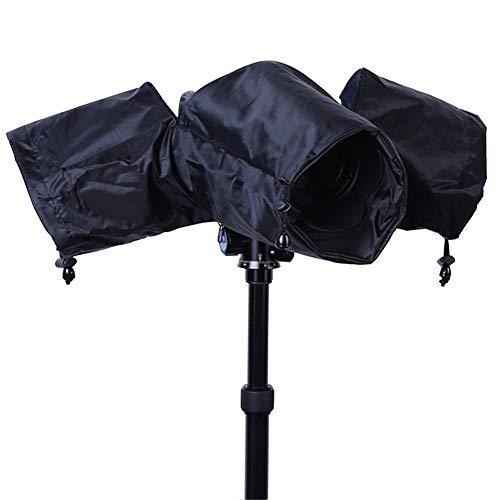 Copertura Antipioggia per Fotocamera, Protettore Impermeabile per Fotocamera Pieghevole Per Fotocamere Reflex Canon, Sony e Nikon Con Obiettivo Corto o Lungo