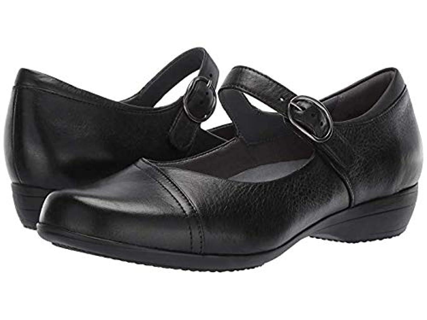 ギャップモール毎月レディースローファー?靴 Fawna Black Milled Nappa (26.5-27cm) Regular [並行輸入品]