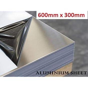 1 100x100x1mm 1-4 mm Aluminium Sheet Plate Foiled on One Side AlMg Aluminium Sheet Fine Sheet Cut Available