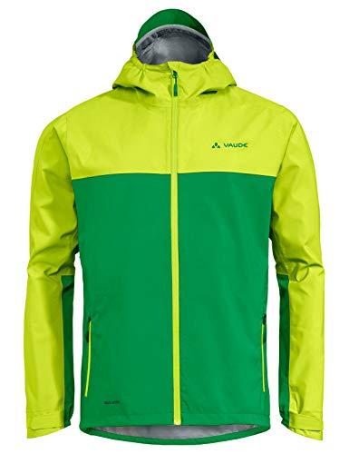 Vaude Herren Jacke Men\'s Moab Rain Jacket, Bright Green, L, 40848