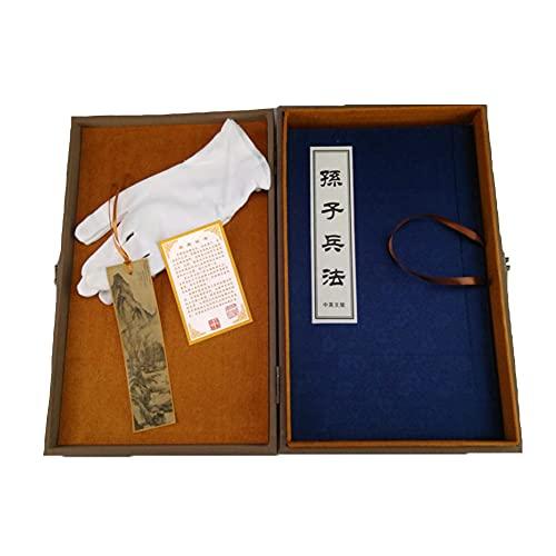 MXGP Edizione commemorativa in Seta L'Arte della Guerra L'Arte della Guerra di Sun Tzu da Collezione Collezione di Libri antichi Strategie illustrate di traduzione Cinese/Inglese Regalo