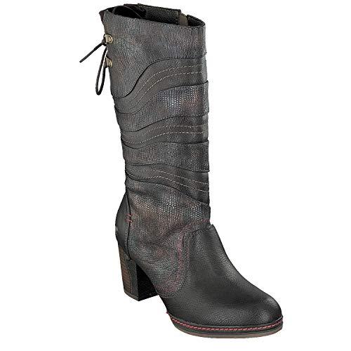 Mustang 1287-514 Schuhe Damen Stiefeletten Stiefel, Schuhgröße:40, Farbe:Braun