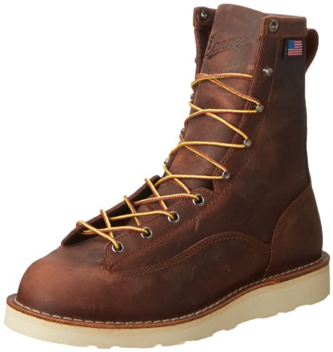 Danner Men's Bull Run 8-Inch BRN Cristy Work Boot,Brown,10 D US