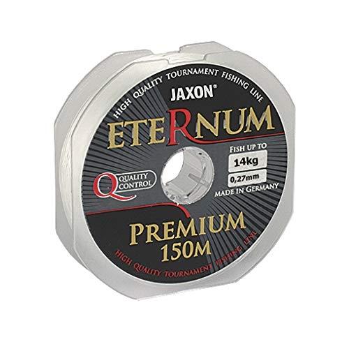 Jaxon Angelschnur ETERNUM Premium 150m/0,10-0,45mm Monofile Schnur (0,30mm / 16kg)