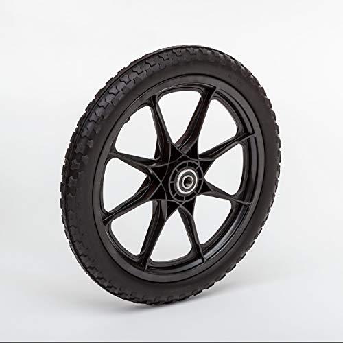 Lapp Wheels Flat Free Plastic Spoke Wheel,Garden cart/Utility Replacement,11-24' Diameter,5/8-3/4...