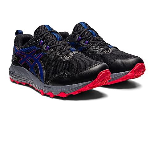 ASICS Gel-Sonoma 6 GTX, Zapatillas para Correr Hombre, Black Monaco Blue, 46.5 EU