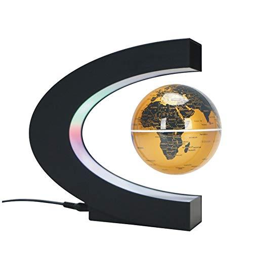 Magnetische Schwebekugel Nachtlicht schwebende Weltkarte Kugel Lampe Cool Beleuchtung Büro Home Dekoration Terrestrische Globus Lampe