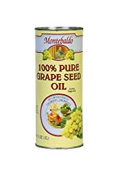 Montebaldo Grapeseed Oil 3375-Ounce Cans (Pack of 2)