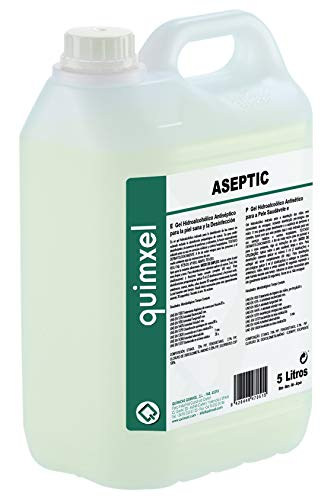 Gel Hidroalcohólico Antiséptico | Autorizado por AEMPS | Indicado para desinfección de piel sana | 5L | <70% de Alcohol