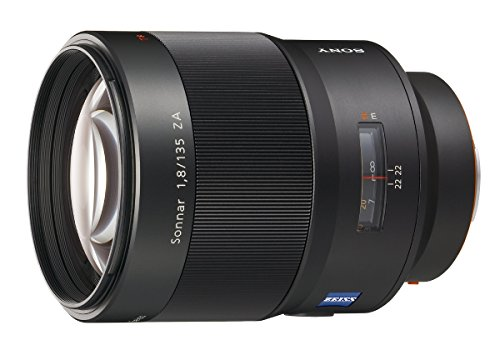 Sony 135mm f/1.8 Carl Zeiss Sonnar T Telephoto Lens