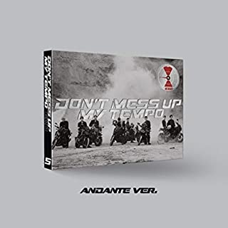 EXO The 5th Album 'Don't Mess UP My Tempo' [ Andante ver ] CD + PhotoCard + PhotoBook Sealed Kpop