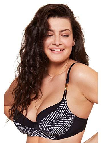 Esotiq Sujetador de Bikini con Aros para Mujer Voyage  para Mujeres con Pecho Lleno  preformados y Acolchados  Correas Ajustables
