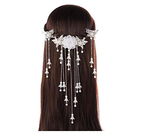 Longue épingle à cheveux à la main, Accessoires anciens, Coiffe Hanfu Cosplay, B02