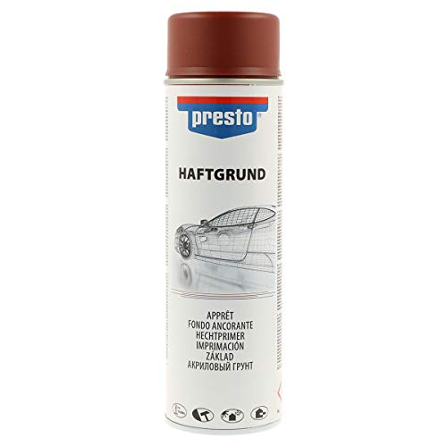 Presto 218217 Rallye-Spray, 500 ml, Haftgrund Rot
