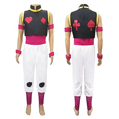 Hunter Hisoka - Disfraz de anime para disfraz de Halloween, carnaval, disfraz para hombre adulto, a, L