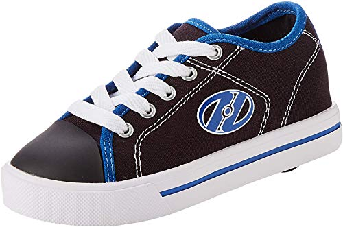 Heelys Classic, Zapatillas para Niños, Negro (Black/White/Snorkel Blue Black/White/Snorkel Blue), 31 EU