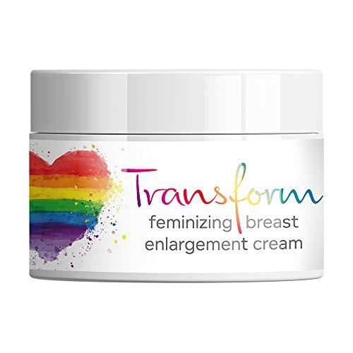 Transform Breast Cream Feminisierende Brustvergrößerungscreme. Wachsen Brüste, Übergang MTF