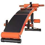 DXYSS Panca Pesi Sit Up Multifunzionale Panca Forza Regolabile Banco di Formazione for Full Body Workout con Pieghevole Veloce