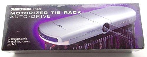 Sharper Image Motorized Tie Belt Scarf Rack