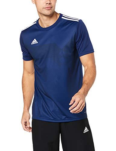 adidas Campeon 19, Maglia Unisex Bambini, Blu (Dark Blue/White), 116 (5-6 anni)