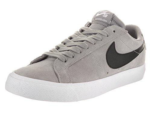 Nike Skateboarding Blazer Zoom Low Mens Trainers Grijs Zwart - 7 UK