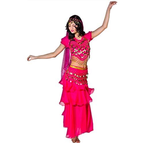 Kostüm Bauchtänzerin pink Einhgr. Fasching Orient Bollywood Märchen