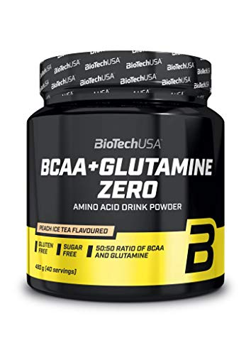 BioTechUSA BCAA + Glutamine Zero, Orange, 620 g