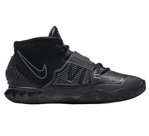 Nike Men's Kyrie 6 Basketball Shoe, Black/Black, 5 UK
