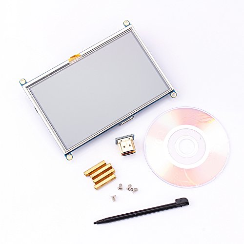 Vbestlife 5'inch GPIO Touch Screen LCD Monitor Display for Raspberry Pi A + B B + PI2 Mode