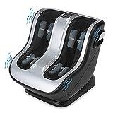 Comfier Foot and Calf Massager, Shiatsu Foot Massager Machine,3 Modes,2 Intensities,Kneading & Vibration Feet Massager with Vibration,for Circulation,Plantar Fasciitis