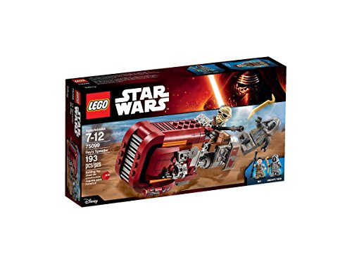 LEGO Star Wars Rey's Speeder 75099 Building Kit by LEGO