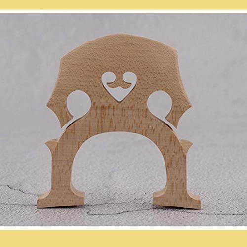 1   2 크기 첼로 메이플 브리지 첼로 교체 부품 액세서리 장착 된 폴리 쉬드 문자열 부품 피팅을위한 나무 첼로 다리 직접 사용 가능