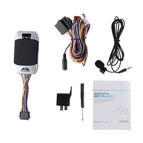 Timagebreze 2G TK303F Rastreador GPS para Coche Impermeable Corte de Aceite DeteccióN de Combustible Dispositivo de Seguimiento en Tiempo Real Alarma de Choque