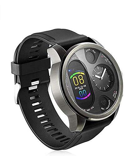Dual Time Smartwatch da uomo – Hybrid Smartwatch con frequenza cardiaca misuratore della pressione sanguigna, Activity Fitness Tracker iOS Android Bluetooth impermeabile Smartwatch da uomo