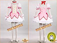 COSSKY 魔法少女 まどか☆マギカ Puella Magi Madoka Magica 鹿目まどか かなめ まどか Kaname Madoka コスプレ衣装 cosplay イベンド 変装 仮装 (男性XL)