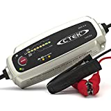 CTEK MXS 5.0, Cargador Batería 12V 5A, Con Compensación De Temperatura Incorporada, Cargador De Batería De Coche Y Moto, Cargador Inteligente Baterias, Mantenedor De Batería Con Opción De AGM Dedicada