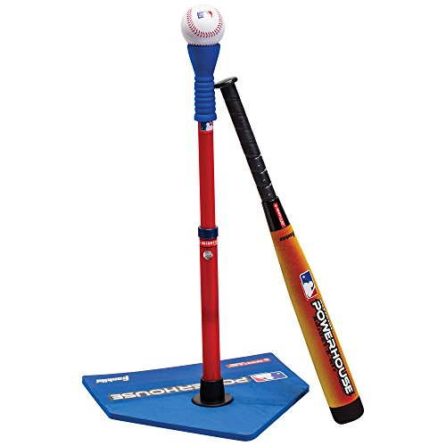 Franklin Sports MLB Adjust-A-Hit T-Ball Set Blue/Red, 5 - 18 years