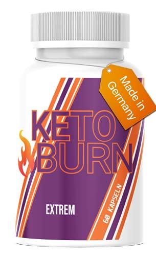 Hello Nutrition® KETO BURN EXTREM - 30 Tage Kur - endlich schnell Abnehmen ohne Hunger mit Glucomannan - für Frauen und Männer, mit & ohne Diät oder Sport - Erfolg & Stark -...