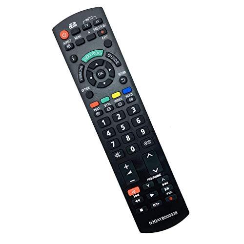 VINABTY N2QAYB000328 Mando a Distancia de Repuesto para Panasonic TX-L19C20E TX-L19C20B TX-L32S10B TX-L37U10E TX-P42C10Y TX-P50S11E TX-L26X10E TX-P50X10Y TX-PF50X10