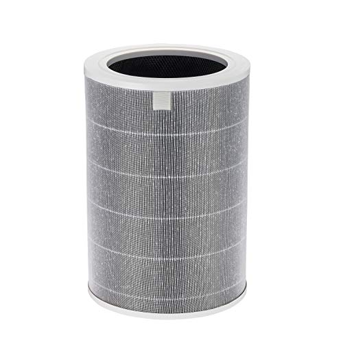 Supremery Juego de filtros de repuesto para purificador de aire Xiaomi Smart Air Purifier 3H 3C, filtro HEPA y carbón...