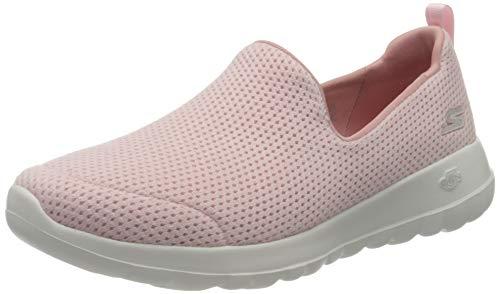 Skechers Damen Go Walk Joy Sneaker, Pink (Lt.Pink Textile/Trim Ltpk), 40 EU