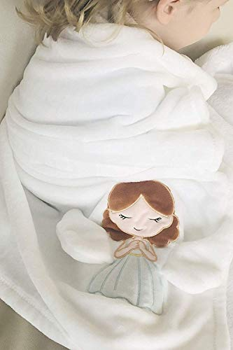 Unique Childrens Sympathy Gift Grieving Child Stuffed Animal Angel Blanket Remembrance Funeral Memorial Comfort for Loss of A Loved One