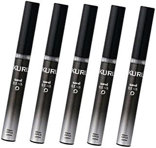 Uni Kuru Toga Pencil Lead - 0.5mm - B,20 Leads X 5-pack (Total 100 Leads)