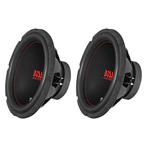 "Boss Chaos Exxtreme 12"" 1200W Dual Voice Coil 4 Ohm Car Audio Subwoofer (2 Pack)"