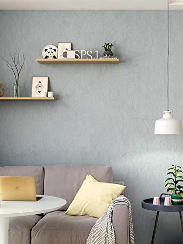 Oslon lange glasvezel effen grijs behang slaapkamer woonkamer TV achtergrond muur papier moderne minimalistische bank studie 3D behang plakken woonkamer plakken de muur 400cm×280cm