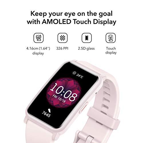 (Renewed) Honor Watch ES (Pink, 4.16cm (1.64