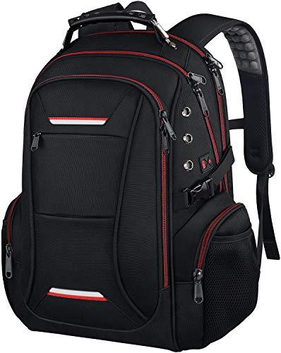 Reise Laptop Rucksack, Business TSA-freundlicher wasserfester Anti-Diebstahl Laptop Rucksack mit USB-Ladeanschluss Passend für 15,6-17,3 Zoll große Laptop Notebook Geschenke für Männer und Frauen