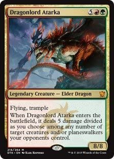 Magic The Gathering Time sale - Dragonlord Atarka T 264 Dragons Houston Mall 216 of